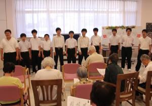 合唱クラブのボランティア活動