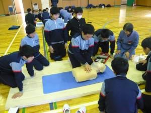 20131212基本救命講習会