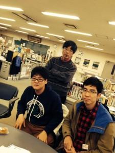佐藤秀義君と立石先生