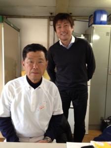 FMヨコハマ:監督とDJ栗原さん