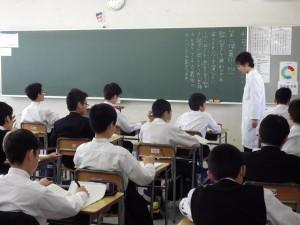 授業参観の風景