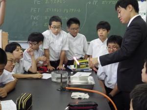 20150905中1理科の実験③