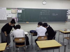 放課後の補習