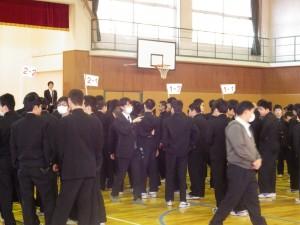 20151207中学朝礼①