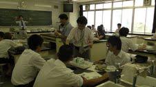 体験授業(理科実験)