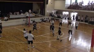 バレー高校体育館